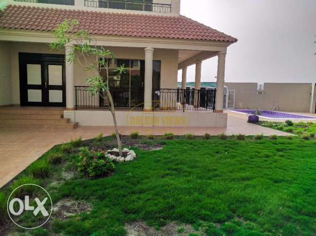 Hamala 5 Bedroom semi furnished villa with pool,garden - Rent inclusiv