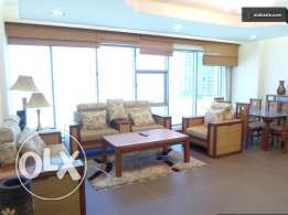 Spacious sea view in Seef / 2 BR