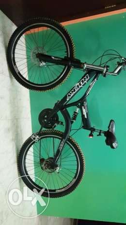 Mountain sport bike rocky in excellent condition
