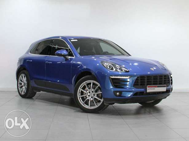"Porsche Macan S 2016MY ""Approved"" BLUE"