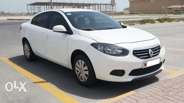 Renault Fluence, 2014, Automatic, 61500 KM, White, Dealer Maintained