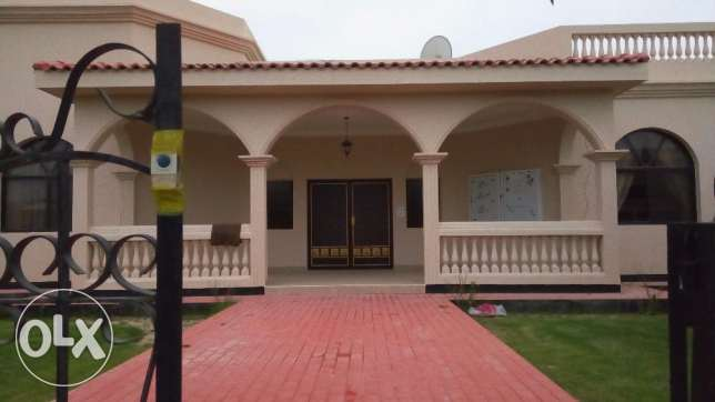 4 BR Semi Furnished Villa in A Compound with Facilities