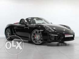 Porsche Approved Boxster GTS BLACK 2015