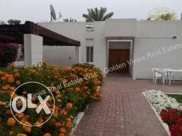 3 Bedroom semi furnished villa for rent with garden,pool