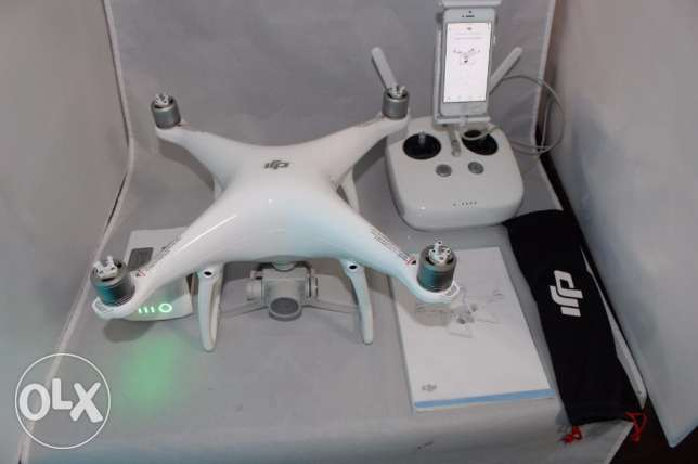 New dji phantom 4 professional drone