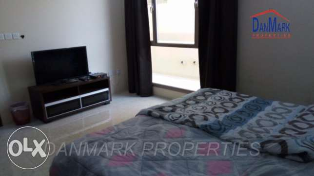 BD 350/ Sea View 1 Bedroom Fully Furnished Apartment for rent in Seef. السيف -  1