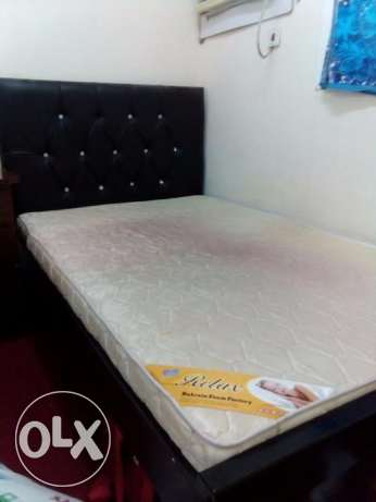 bed with a Mattress in a good condition only at 25BD . very less used.