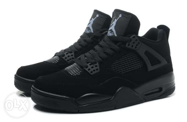 Air Jordan 4 cat black