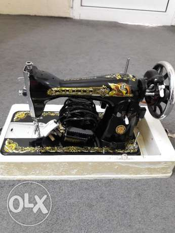 Sewing machine with motor