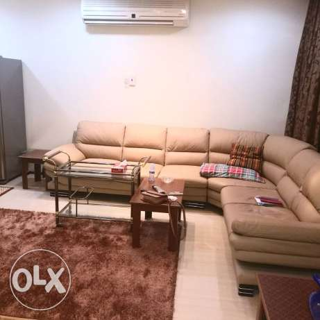 3 BHK for rent in Buhair semi furnished/ pool & gym