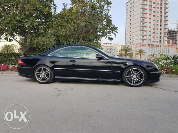 low mileage cl600
