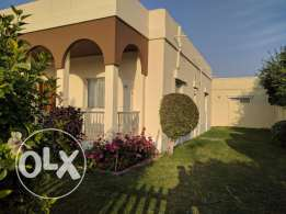 4 Bedroom semi furnished villa with large private garden,ply area