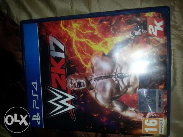 W2k17 for sale PS4