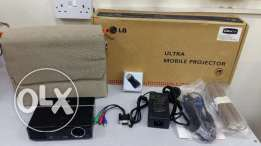 New lg projector with box and bag