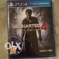 For sale uncharted 4 or exchange with ( RESIDENT EVIL UMBRELLA CORPS )