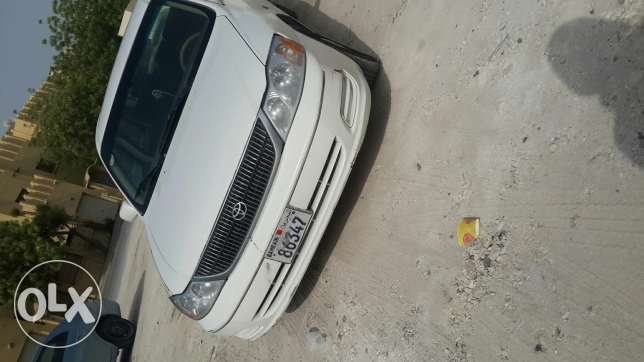 Selling toyota avalon for cheap with special number plate