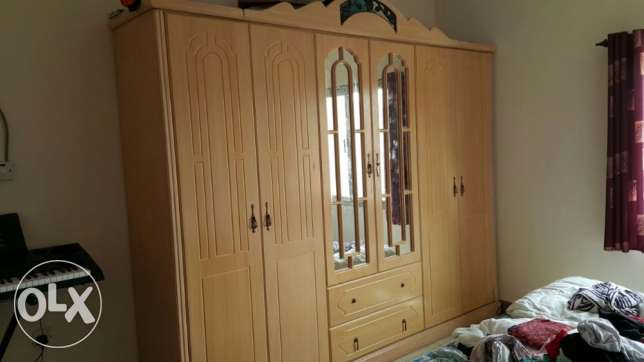 Well made 6 door wardrobe for sale - expat leaving