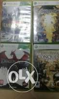 Selection of Games (PS3, wii, XBOX 360))