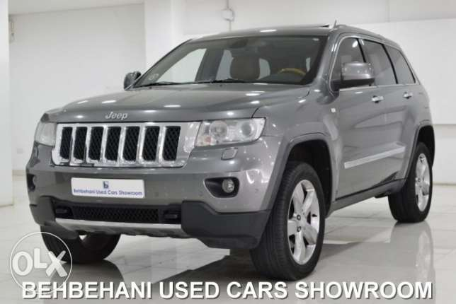 JEEP GRAND CHEROKEE 4X4 OVERLAND 2011 for sale in Bahrain