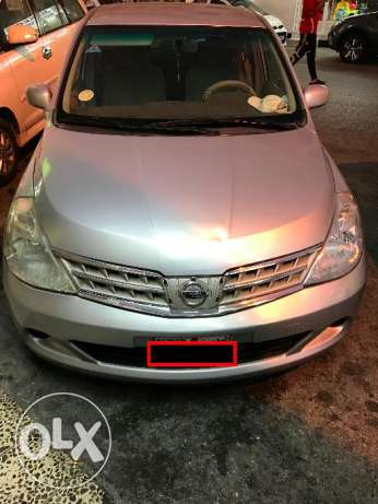 Nissan Tiida 2009 going for cheap