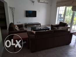 3 Bedroom fully furnished villa for rent in Mahooz - all inclusive