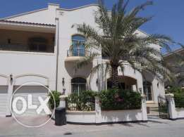 5 Bedroom semi furnished villa with large private garden