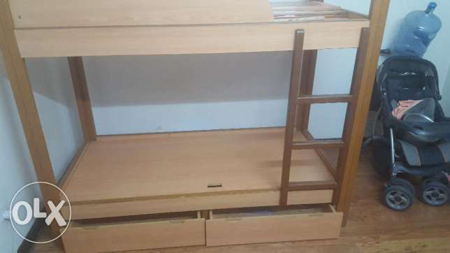 Bunk Bed, Single Bed, Stroller / Pram, 3 branded ACs, (Tea Table free)