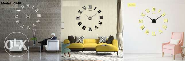 Modern High quality wall clocks مدينة عيسى -  4