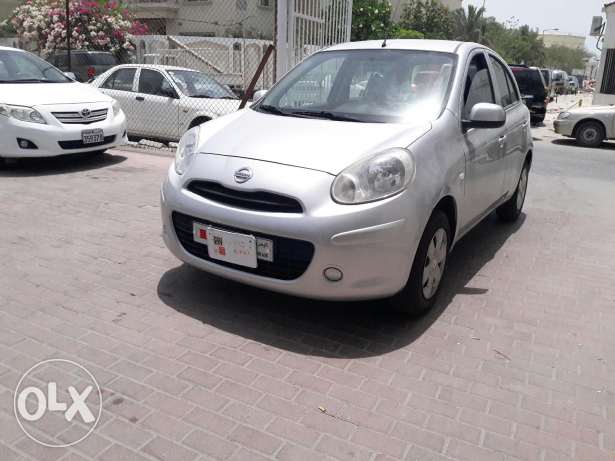 Nissan Micra 2013 model for sale for installments also
