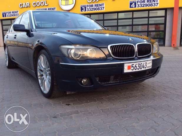 2007 BMW 750 iL 099000KM, full option in excellent condition