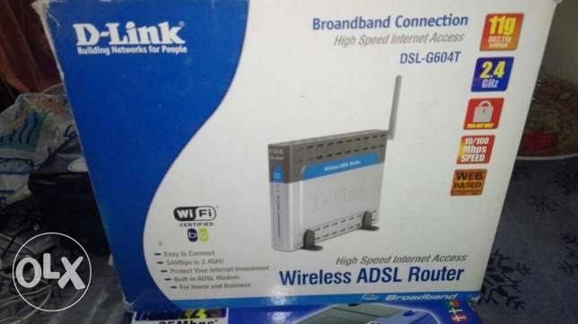ad sl, and d link, for sale