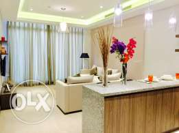 brand new one bedroom luxury apartment for Sale in Seef area.