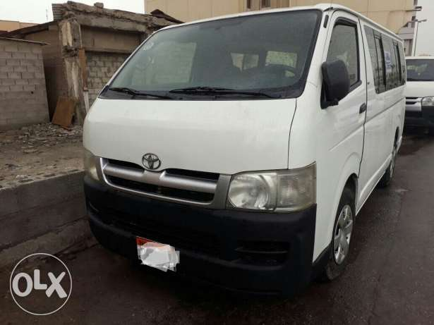 Toyota Hiace 2005 model for sale