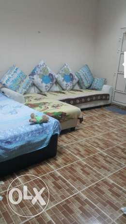 Bed set and sofa