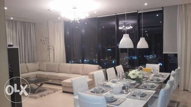 Sea view 3 BR in Seef / Balcony