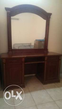 Dressing table with big MIRROR 10 BHD