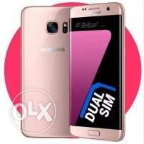Brand new samsung galaxy s7edge pink gold colour 64gb