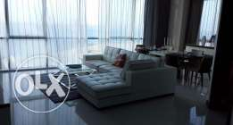 Luxury modern 3+1 bedroom flat for rent with Sea view - all inclusive