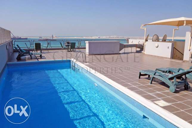 Luxury Two Bedroom Flat with a Sea View!