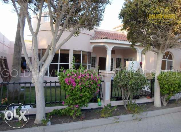 4 Bedroom semi furnished villa with garden and pool