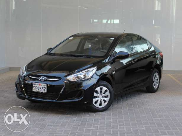 Hyundai Accent low 2016 Black For Sale