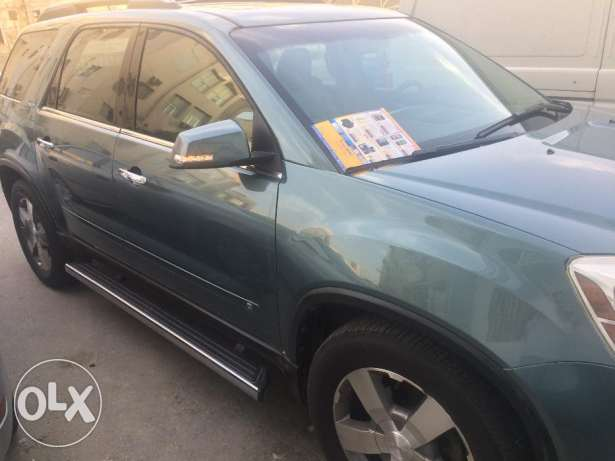 GMC ACADIA 2009 FULL OPTION FULL INSURANCE with low milleage for sale