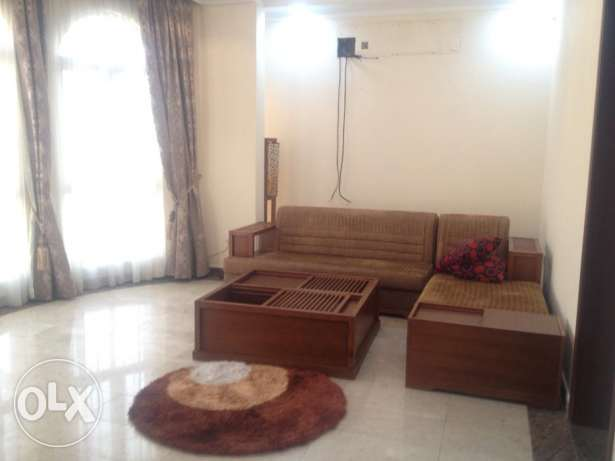 Four bedroom Semi Furnished Compound Villa in janabiya