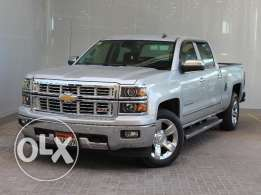 Chevrolet Silverado 2015 Silver For Sale