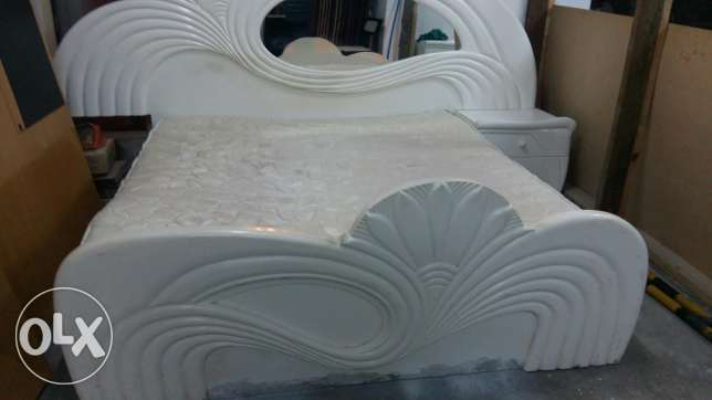 Bed with Mattress is for sale (Size 180*190) - Free delivery and fixin المنامة -  3