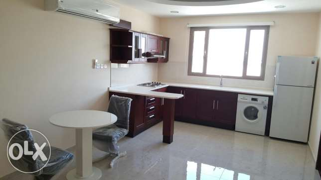 Brand new 2 BedRooms semi furnished Flat / BD 380 inclusive