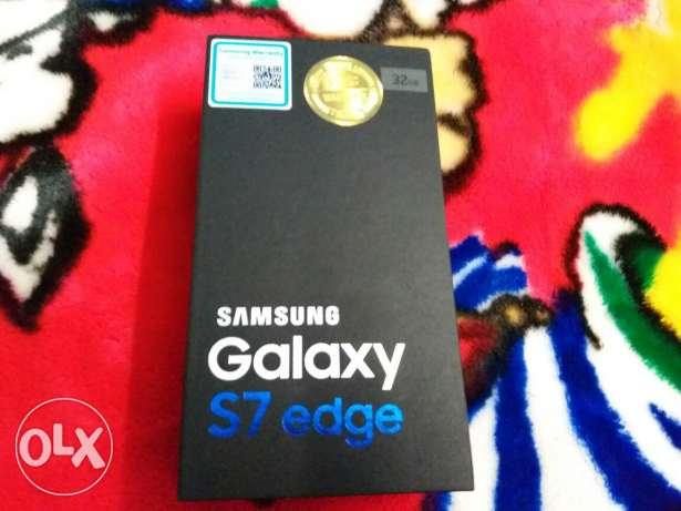 Samsung galaxy s7 edge sealed silver