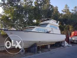 34 Ft Old Yacht For sale