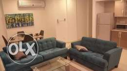 fully furnished apartment close to saudi auseway450