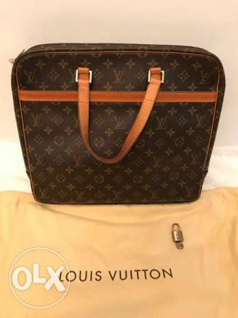 Preowned Louis Vuitton unisex Business bag